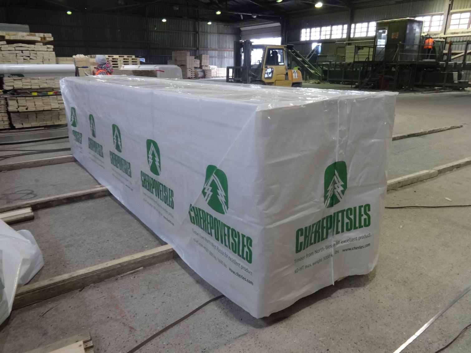 пакеты для упаковки пиломатериалов Мегапак